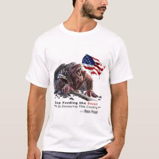 Pare el alimentar de la camiseta de la bestia