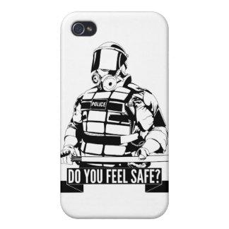 Pare el arte de la brutalidad policial para ocupan iPhone 4/4S carcasa