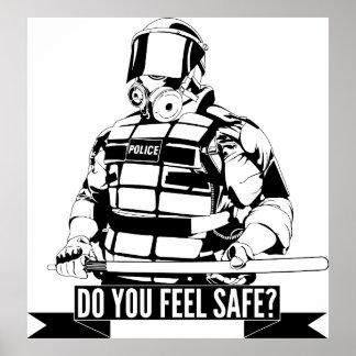 Pare el arte de la brutalidad policial para ocupan posters