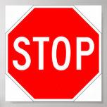 Pare el aviso de la muestra impresiones