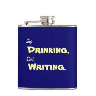 Pare el beber, comience a escribir