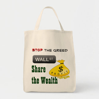 Pare el bolso de la avaricia bolsas