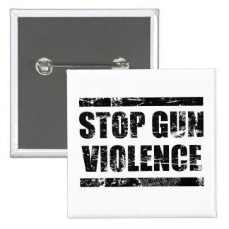 Pare el botón de la violencia armada pin