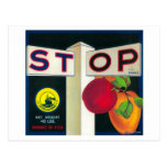 Pare el cajón LabelCutler, CA de Apple Postales