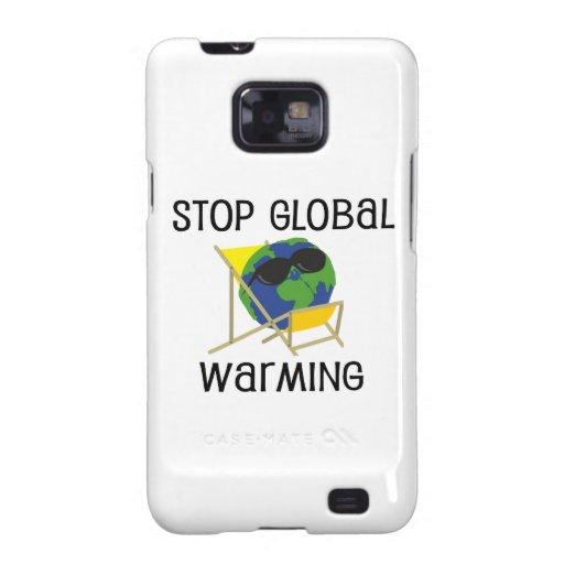 Pare el calentamiento del planeta samsung galaxy s2 fundas
