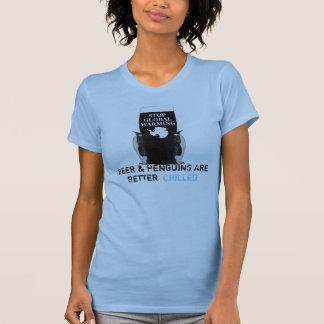 Pare el calentamiento del planeta camisetas