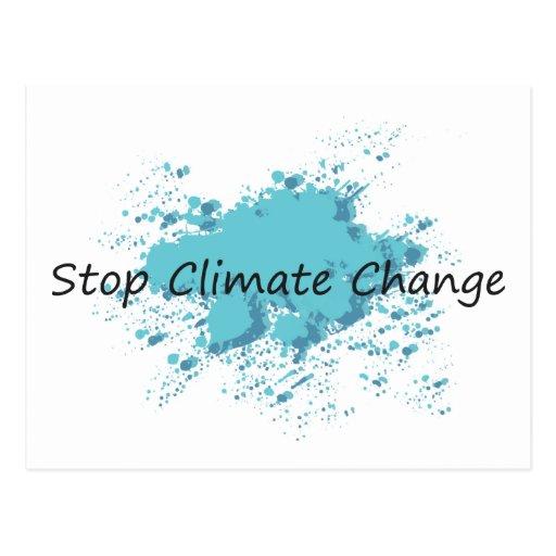 ¡Pare el cambio de clima! Postales
