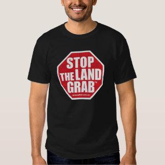 Pare el camisetas del gancho agarrador de la playera