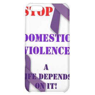 Pare el caso de Iphone de la violencia en el hogar