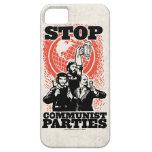 Pare el caso de los fiestas de Cummunist iPhone 5 Case-Mate Cárcasa