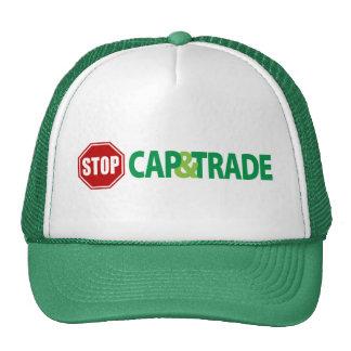 Pare el casquillo y negocie gorras de camionero