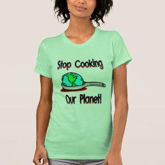 Pare el cocinar de nuestro planeta 2 playeras