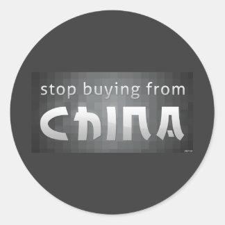 Pare el comprar de China Pegatina Redonda