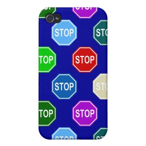 Pare el diseño del modelo del multicolor de la mue iPhone 4 carcasa