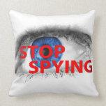 Pare el espiar cojin