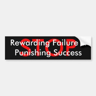 PARE el éxito &Punishing del fracaso Rewarding Pegatina Para Auto