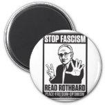 Pare el fascismo iman de nevera