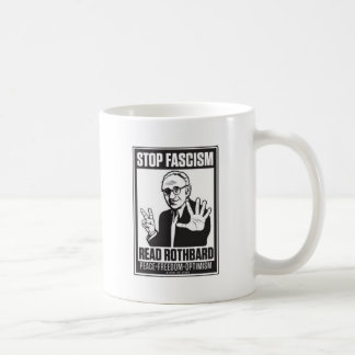 Pare el fascismo taza