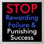 PARE el fracaso Rewarding y éxito el castigar Impresiones