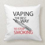 Pare el fumar cojines