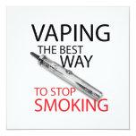 Pare el fumar comunicados personalizados