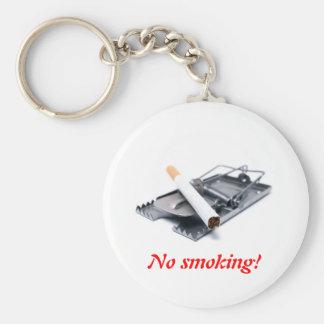 ¡Pare el fumar! Llavero
