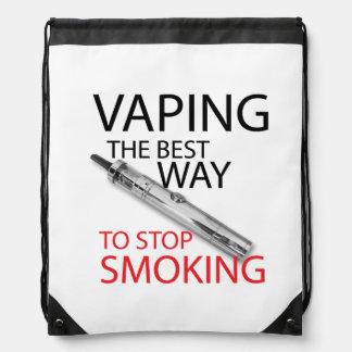 Pare el fumar mochilas