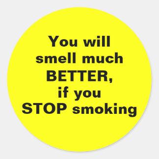 PARE el fumar - pegatina