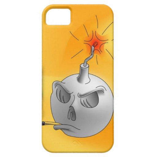 Pare el fumar y bumb iPhone 5 funda