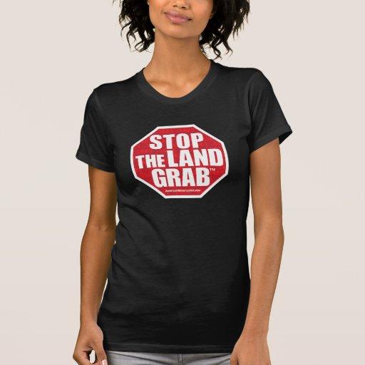 Pare el gancho agarrador de la tierra camiseta