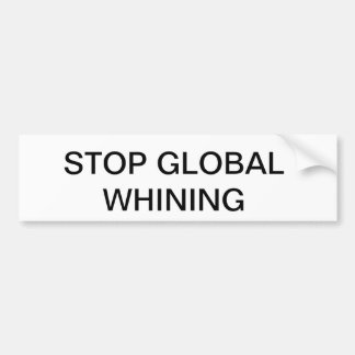 PARE EL GIMOTEO GLOBAL PEGATINA DE PARACHOQUE