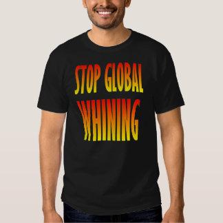 Pare el gimoteo global playera