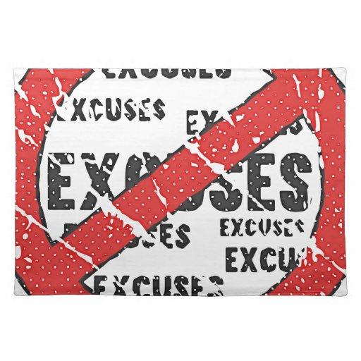 Pare el hacer de apariencia vintage de las excusas manteles individuales