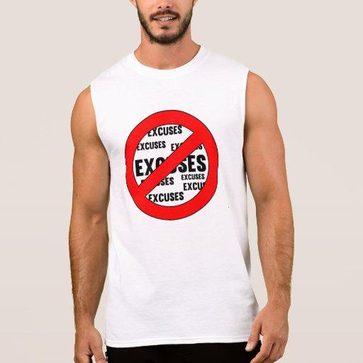 Pare el hacer de excusas camiseta