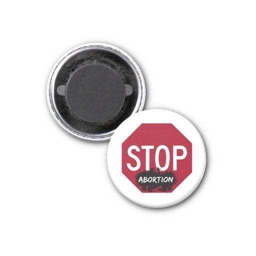 Pare el imán del aborto