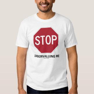 Pare el infravalorar de mí (el humor de la señal d playeras