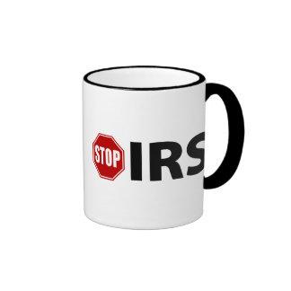 Pare el IRS Taza