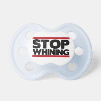 Pare el lloriquear chupetes para bebés