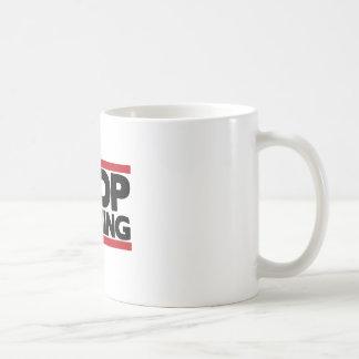 Pare el lloriquear tazas de café