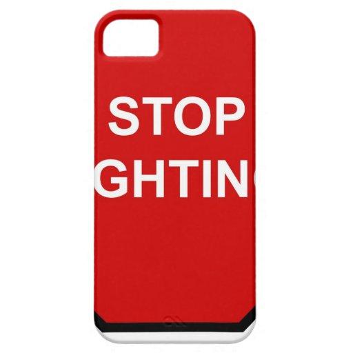 Pare el luchar iPhone 5 cárcasas