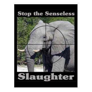 Pare el Matanza-Elefante Postales