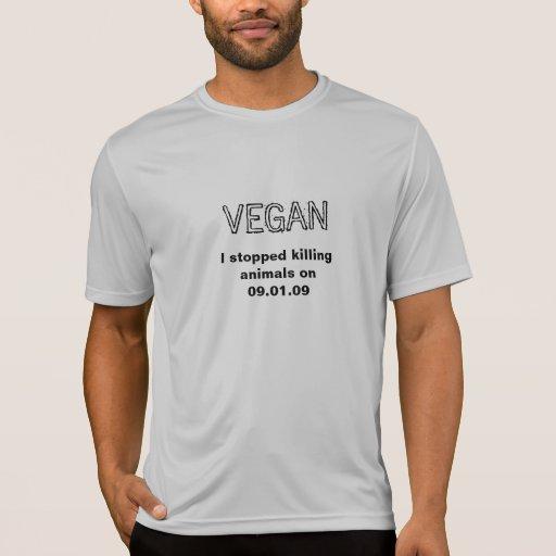 Pare el matar de animales camisetas