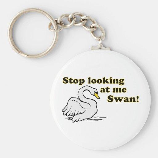 Pare el mirar de mí cisne llavero