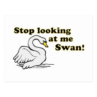 Pare el mirar de mí cisne postal