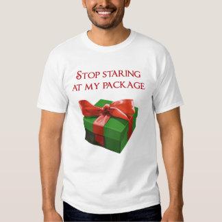 Pare el mirar fijamente mi regalo de Navidad del Poleras