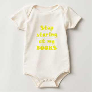 Pare el mirar fijamente mis libros body para bebé