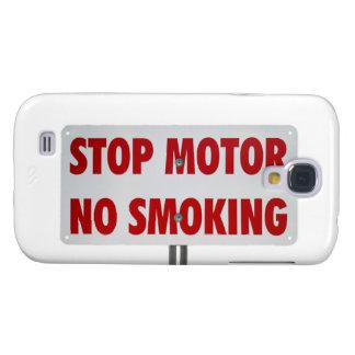 Pare el motor de no fumadores funda para galaxy s4