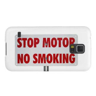 Pare el motor de no fumadores fundas para galaxy s5