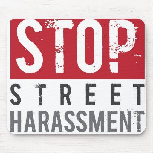 Pare el mousepad del acoso de la calle tapete de raton