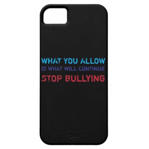 Pare el no tiranizar de ningún tiranizar contra iPhone 5 Case-Mate carcasa